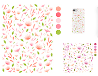 Surface Design - Assorted Florals