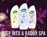 The Radox Spa range - Digital Escalator Panels