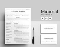Resume | Professional Resume Template | CV Template