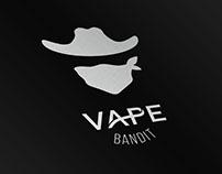 Vape Bandit Logo and Label Design