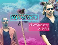 Miami Vice Broadcast Design Concept