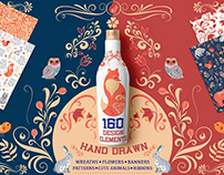 150+ Creative Hand Drawn Vector Elements