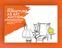KDUR's Furniture As Art Auction | 2015