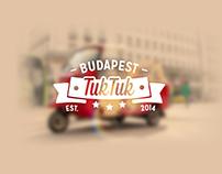 Budapest TukTuk Brand ID
