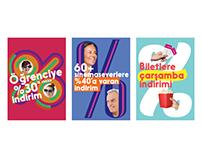 Cinemaximum // Eylül Kampanya Posterleri