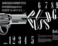 """Typographic Poster. Herb Lubalin's """"pudgy puss"""""""