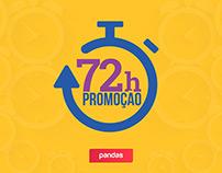 Pandas.com.br   Campanha 72h