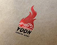 Korean Mart Logo Mockup
