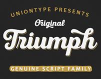Triumph Script