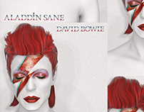 """RE""imagining covers - DAVID BOWIE / ALADDIN SANE"
