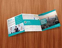 Square Tri- Fold Corporate Brochure