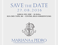 Save the Date Mariana & Pedro