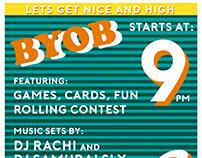 GET HIPP 420 PREGAME PARTY