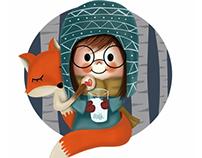 Bicirik's fox love!