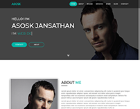 Asosk- Personal Portfolio HTML Template