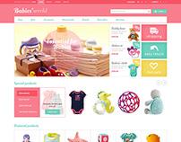 Babies World - PrestaShop Theme for Kids Store