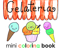 Kawaii Gelateria | Coloring Book for Adults
