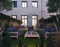 Residential complex in Tivoli, Bordeaux.