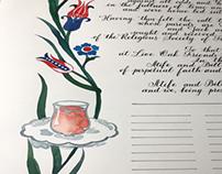Quaker marriage certificate