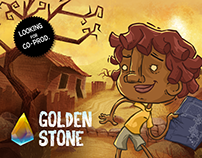 GOLDEN STONE | Feature Film, 2D animation