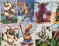 Shaman Arcanum Series 1 Art Cards