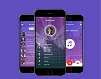 Notice Sound Mobile App Design