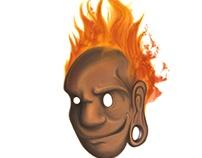 Ilustración- Hombre de Fuego
