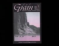 Poster for Gjáin, radio show