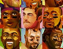 Neonmob Football Stars