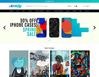"""Artify"" ecommerce website"
