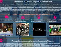 Web-site for Capoeira School