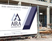 REAL ESTATE IDENTITY AIRA CONSTRUCTION BRANDING