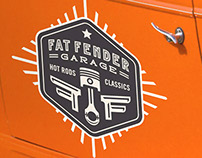 Fat Fender Garage Branding