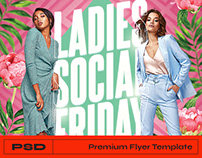 Ladies Party Flyer - Photoshop Template