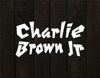 T-shirt graphics for the rock band CHARLIE BROWN JUNIOR