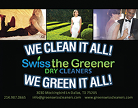 Swiss the Greener Dry Cleaners Catalogue