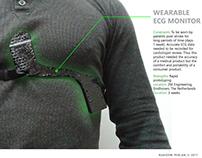 Wearable ECG monitor. Merging medical & consumer