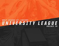 2017 League of Legends University League - Brand ID