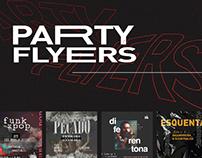Social Media // Party Flyers