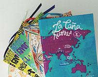 Colección Caña Verde. Pamplemousse, textiles ilustrados