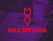 Max Editora - Visual Identity