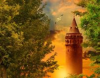 Galata Tower & Manipulation