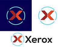 Xerox- brand logo design. x letter logo