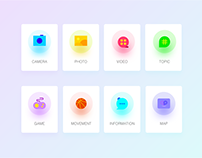 Candy color ICON