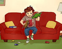 AUTISTIC OLLIE - childrens book summer 2018