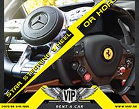 Social Media Designs- VIP Rent A Car
