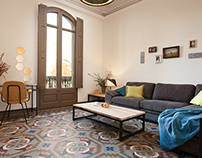 ENCHANTED, APARTMENT IN EIXAMPLE, BARCELONA