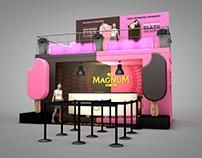 Stand MAGNUM PINK & BLACK para Vogue FNO'15