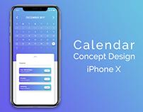 Calendar Concept Design