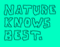 Nature knows best - Identity